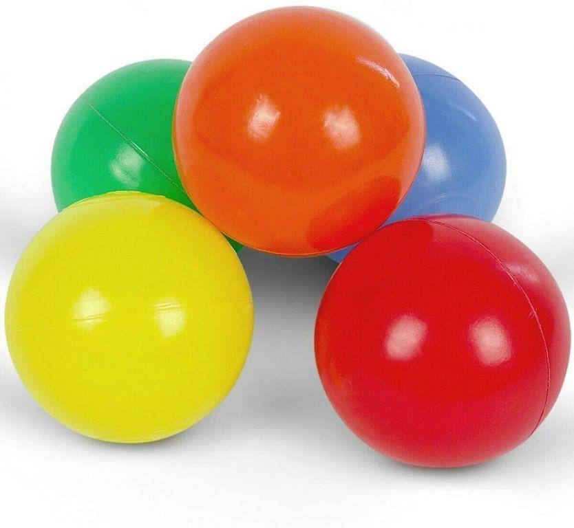 Kolorowe piłeczki dziecięce, 100 szt