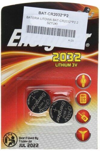 BATERIA LITOWA BAT-CR2032*P2 ENERGIZER