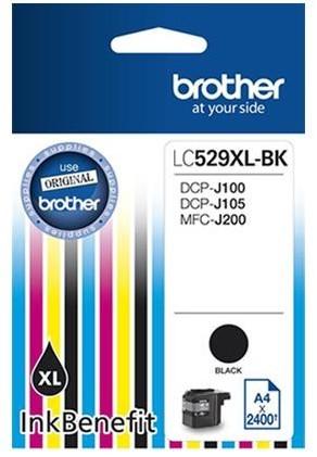 Tusz BROTHER LC-529XLBK Czarny
