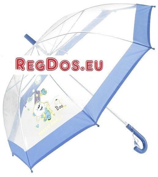 Parasolka przezroczysta happy day automat