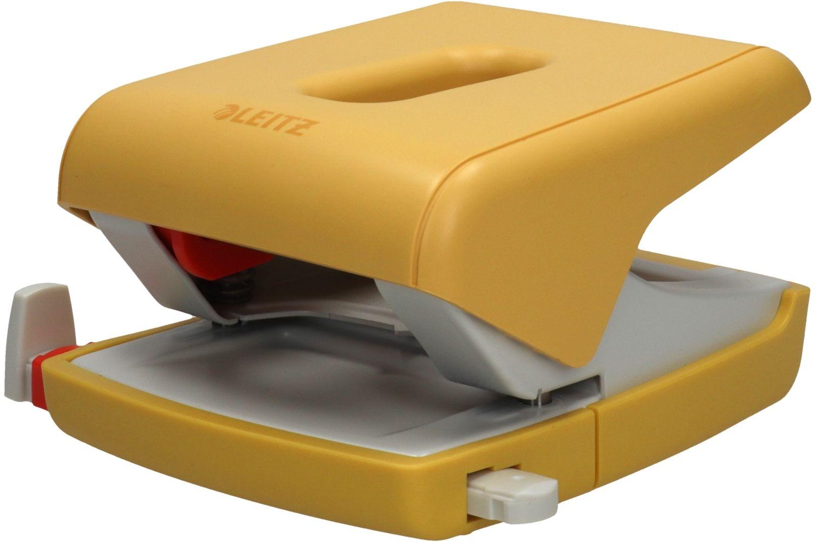 Dziurkacz 30k żółty Leitz Cosy 50040019