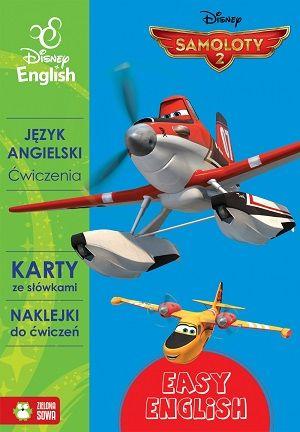 Język angielski. Ćwiczenia. Samoloty 2 - Disney English