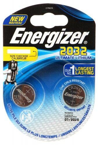 BATERIA LITOWA BAT-CR2032-LITHIUM*P2 ENERGIZER