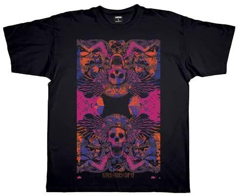 Nitro męski T-shirt BLACK MAGIK, faded black, M, 1121-872911_1107