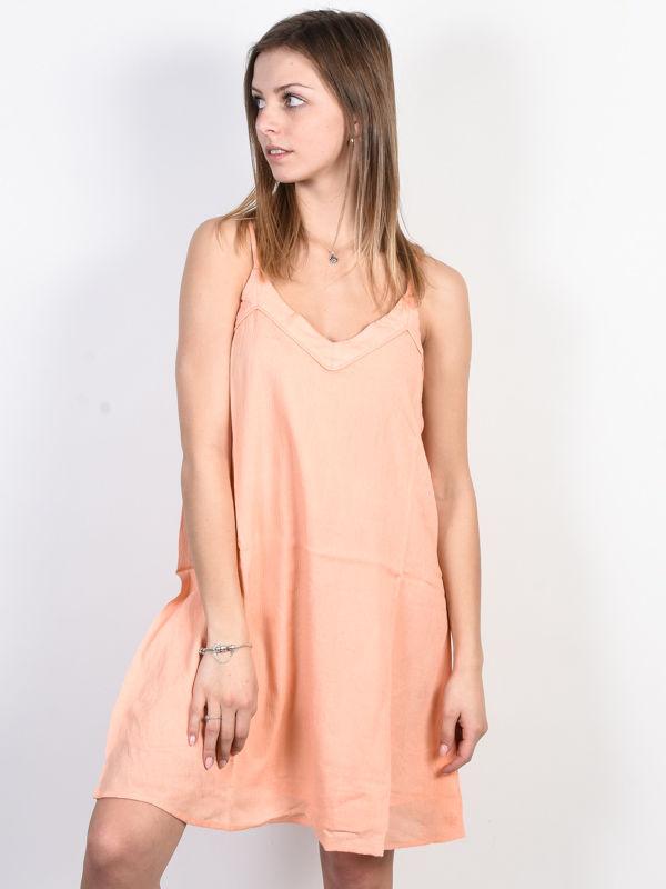 Roxy OFF WE GO SALMON krótkie sukienki - M