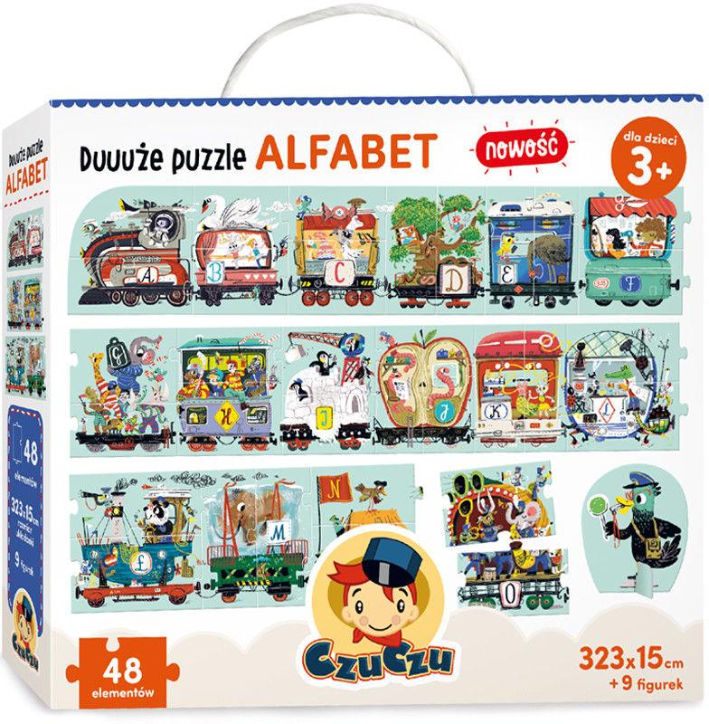 CzuCzu - Duuuże Puzzle Alfabet 0128