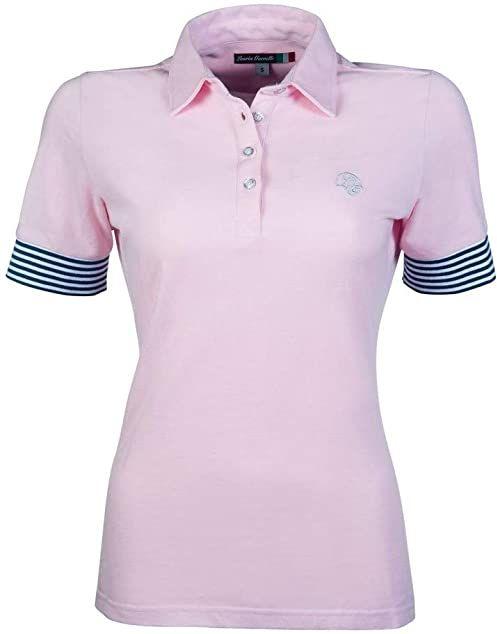 HKM Elemento koszulka polo jasnoróżowa XL
