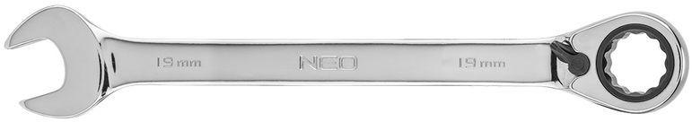 Klucz płasko-oczkowy z grzechotką i przełącznikiem 19mm 09-331