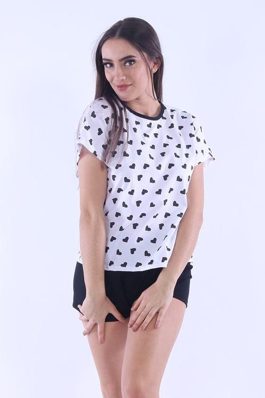 Piżama damska Lada 4 czarne