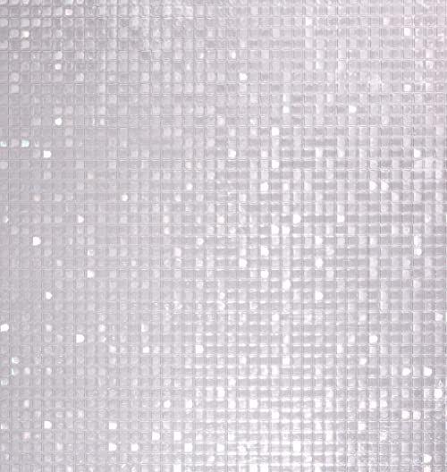 Venilia 54778 folia okienna statyczna na pręty Vitrostatic 3D ochrona przed wzrokiem, bez ftalanów, przezroczysta, 45 cm x 1,5 m, 200 m (grubość: 0,2 mm), Venilia 54778