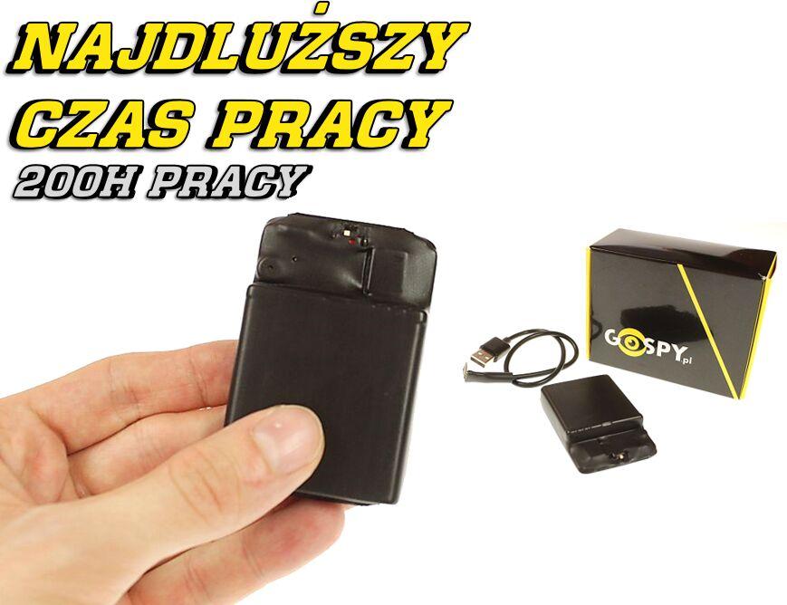 Profesjonalny dyktafon pluskwa MKX SET200 16GB