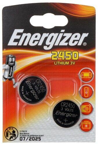 BATERIA LITOWA BAT-CR2450*P2 ENERGIZER