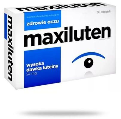 Maxiluten 30 tabletek