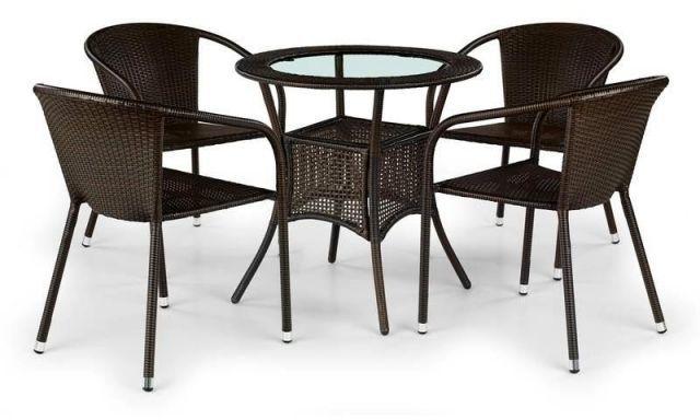 Krzesło MIDAS ogrodowe z ratanu syntetycznego  KUP TERAZ - OTRZYMAJ RABAT