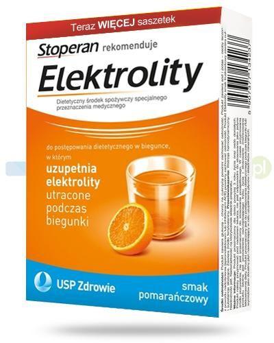 Stoperan Elektrolity smak pomarańczowy 7 saszetek