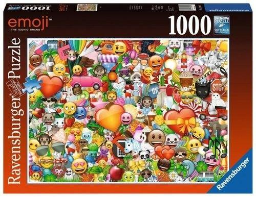 Puzzle Ravensburger 1000 - Emoji II
