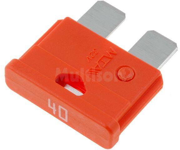 Bezpiecznik samochodowy 19mm 40A pomarańczowy