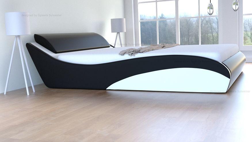 Łóżko Stilo-2 Lux Premium skrzynia na pościel
