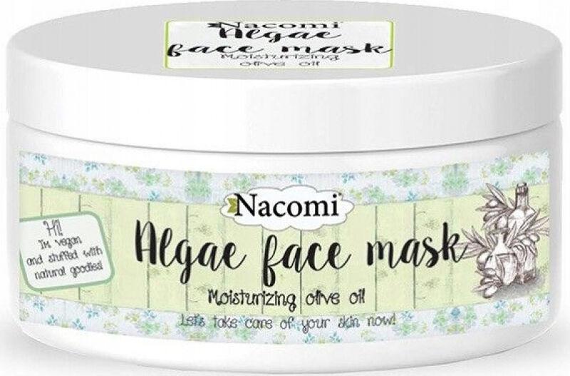 Nacomi - Algae Face Mask - Nawilżająca maska algowa do twarzy - Peel Off