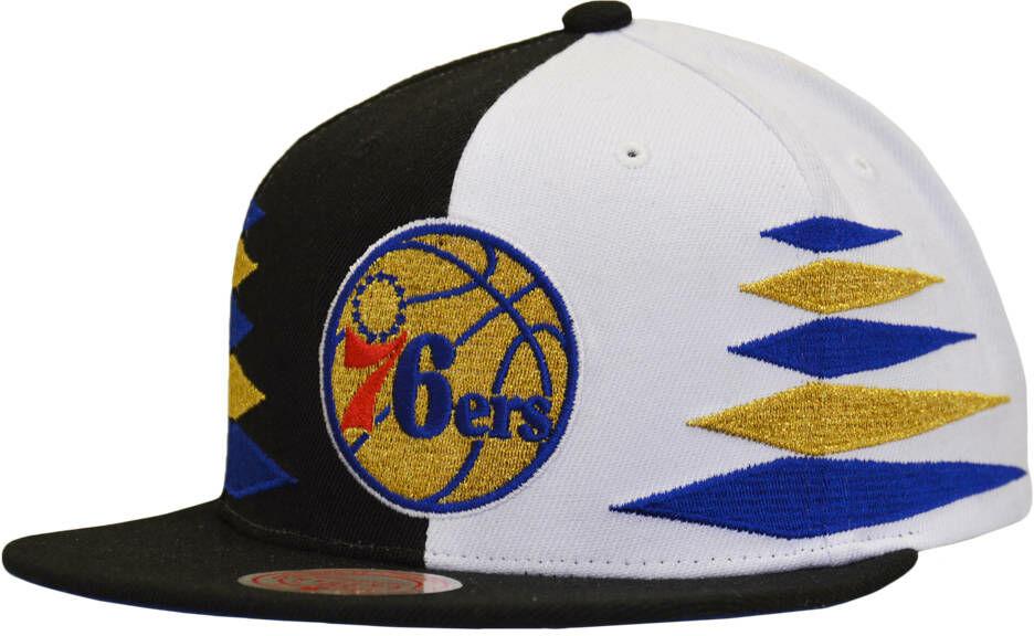 Czapka z daszkiem Mitchell & Ness NBA Philadelphia 76ers Snapback