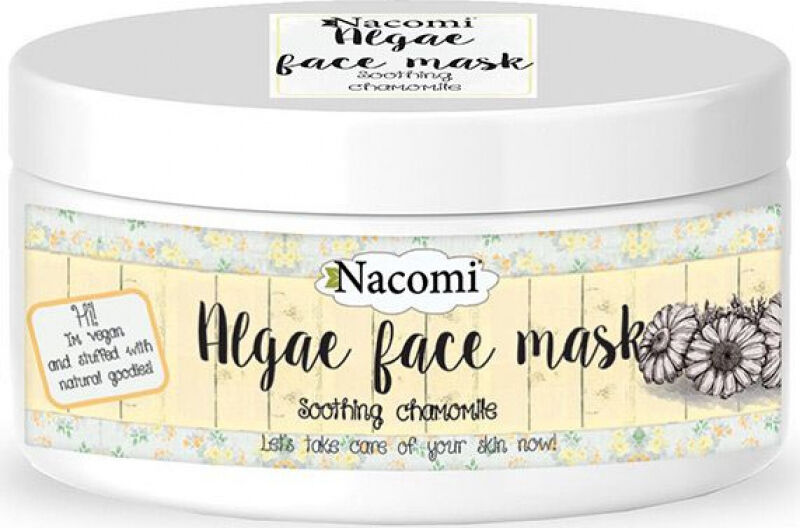 Nacomi - Algae Face Mask - Łagodząca maska algowa do twarzy z rumiankiem - Peel Off