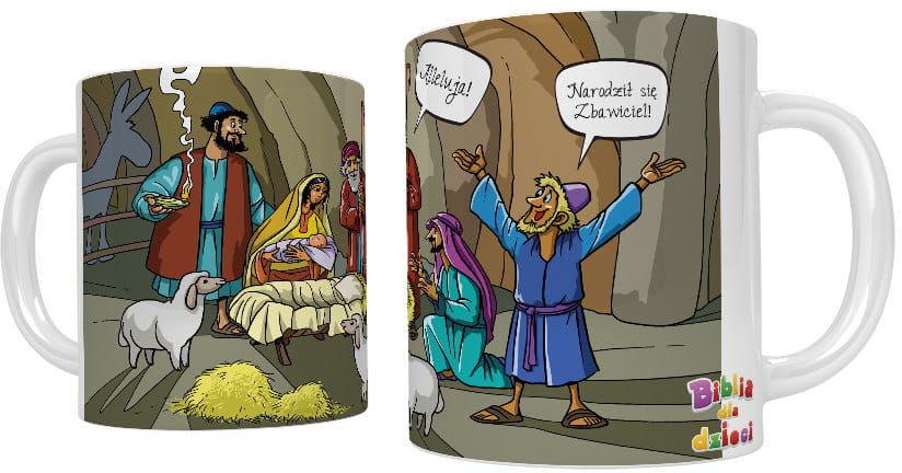 Kubek religijny Boże Narodzenie