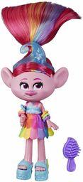 DreamWorks Trolls Glam Mak Modna Lalka z sukienką, butami i innymi, inspirowana filmowymi Trolls World Tour, zabawka dla dziewcząt od 4 lat