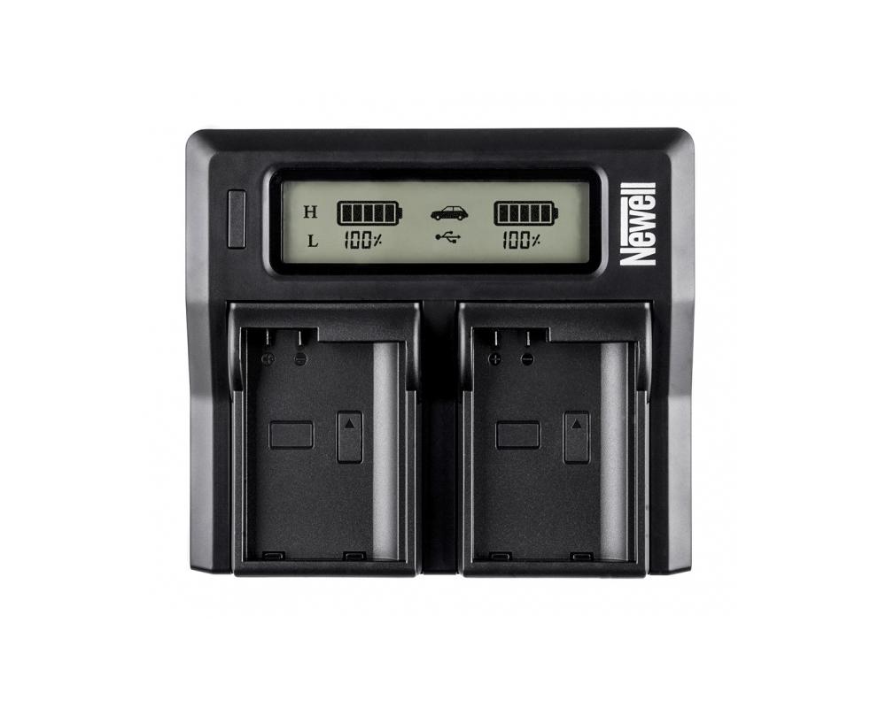Newell NP-FM - ładowarka DC-LCD Dual do Sony NP-FM50