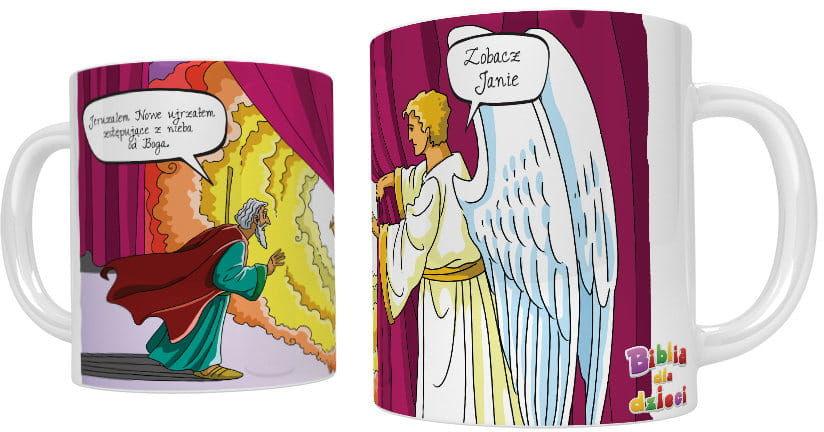 Kubek religijny Objawienie św. Jana