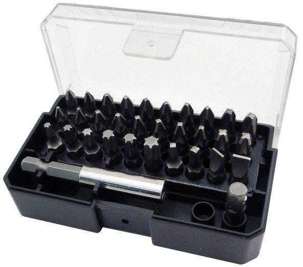 Zestaw bitów Universal fit z uchwytem magnetycznym 25 mm mix 32 szt.