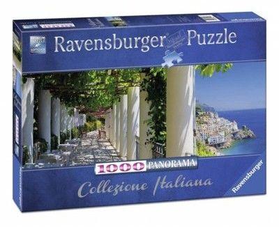 Puzzle Ravensburger 1000 - Amalfi, Włochy, Amalfi, Italia