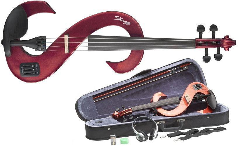 Stagg EVN 4/4 MRD - skrzypce elektryczne 4/4