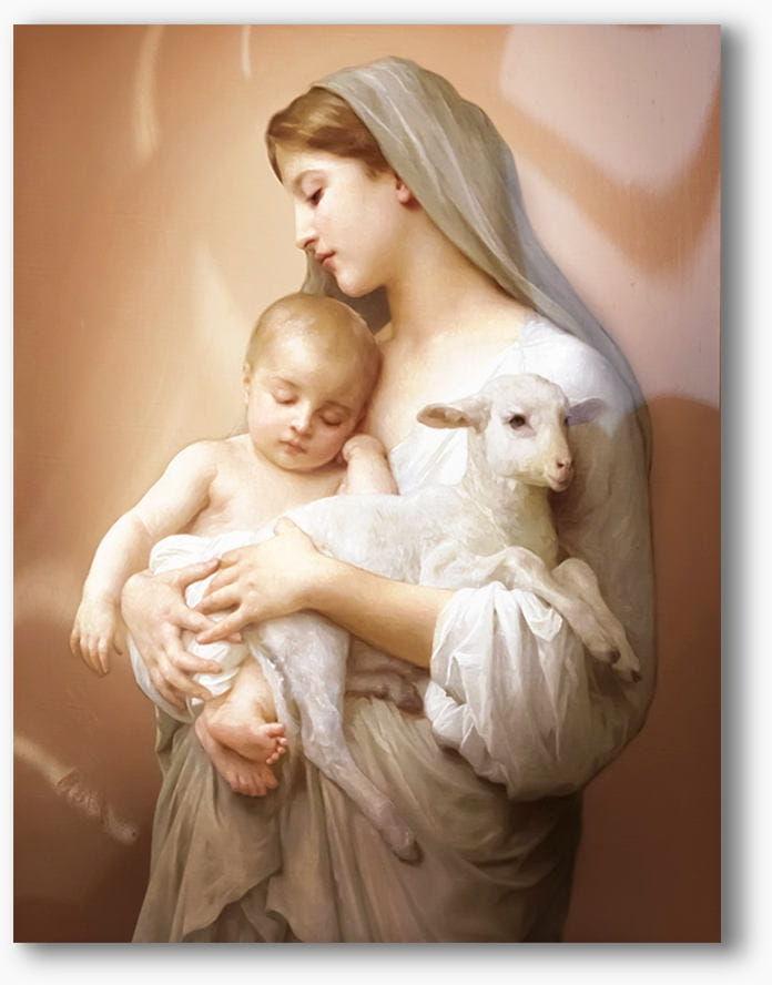 Matka Boża z Dzieciątkiem, nowoczesny obraz religijny plexi