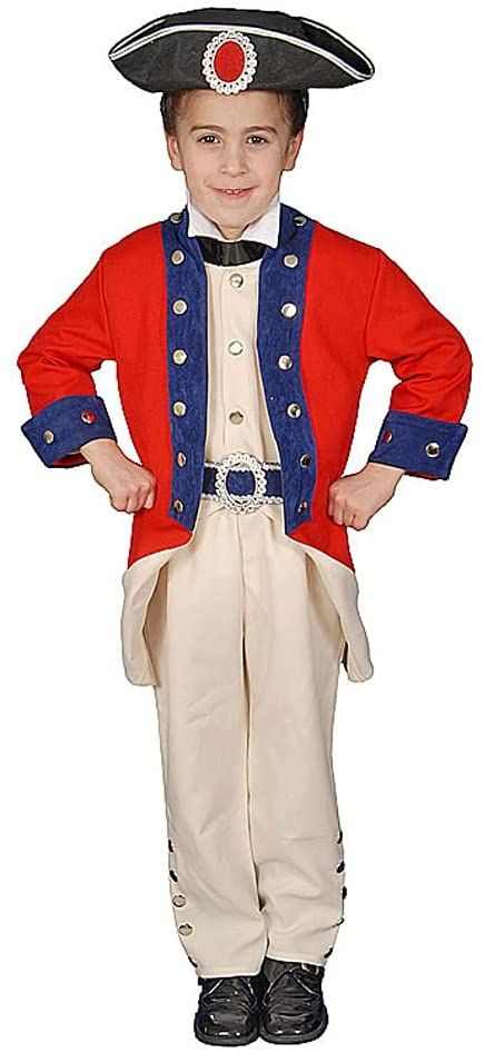 Dress Up America Kolonialny żołnierz kostium dziecięcy