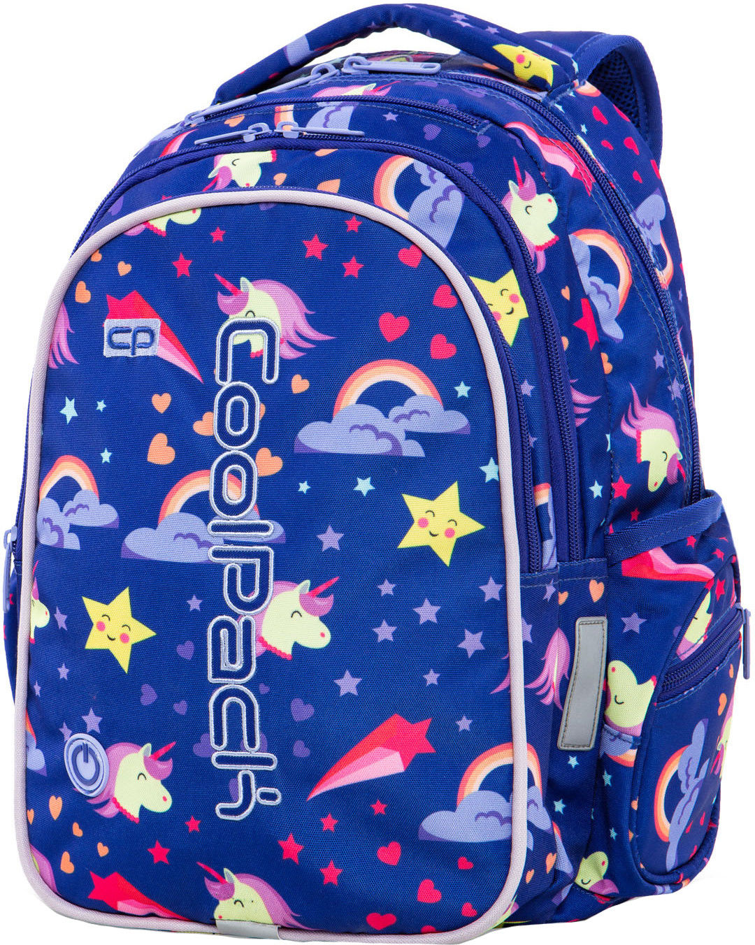 Plecak młodzieżowy CoolPack Joy/M Led Unicorns A20208