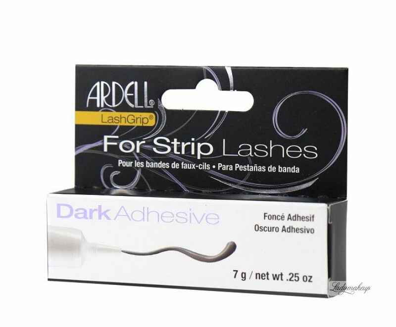 ARDELL - LashGrip For Strip Lashes Adhesive - Klej do rzęs - DARK