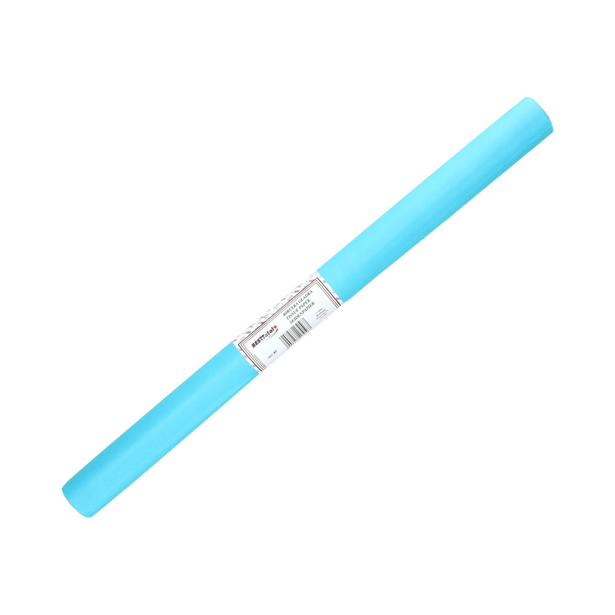Bibuła gładka jasnoniebieska 47 BestTotal (30)