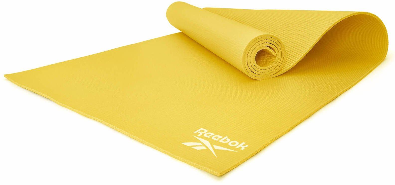 Mata do jogi Reebok 173 x 61 x 0,4 cm żółta