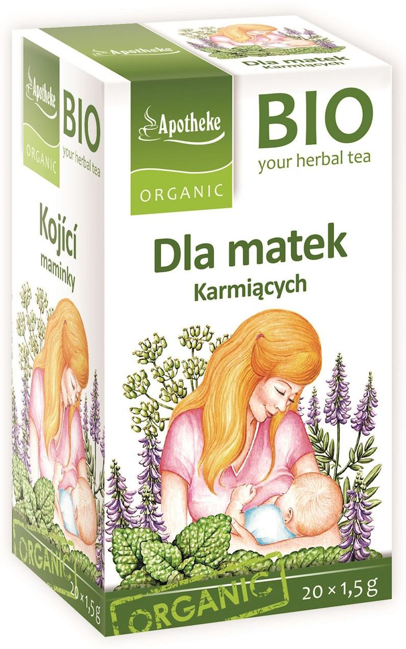 Herbatka dla matek karmiących BIO - Apotheke - 20x1,5g
