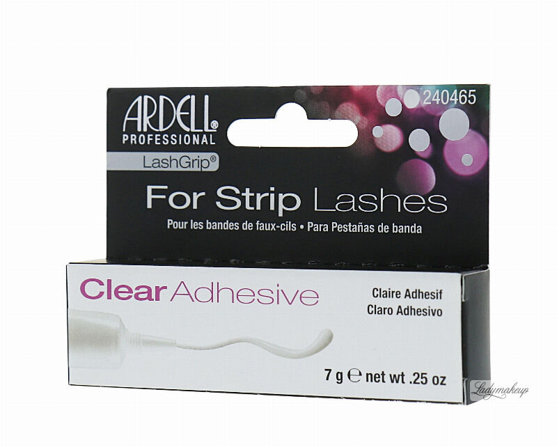 ARDELL - LashGrip For Strip Lashes Adhesive - Klej do rzęs - CLEAR