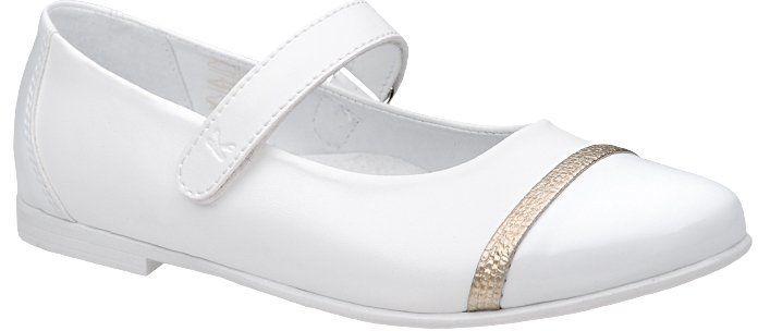 Balerinki buty komunijne KORNECKI 6101 Białe