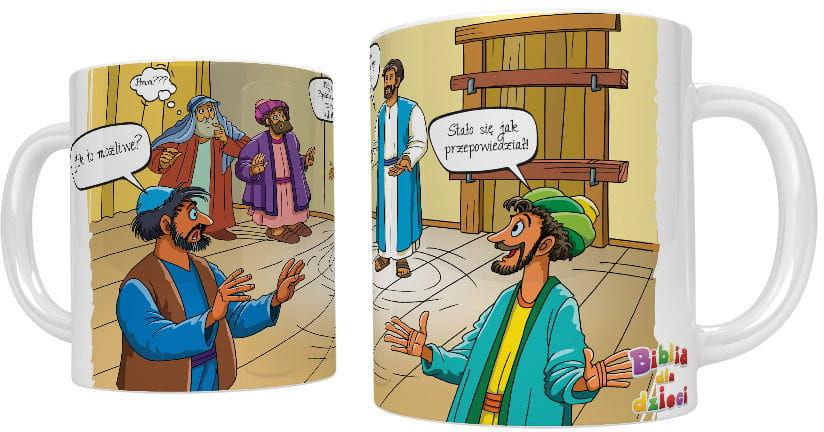 Kubek religijny Jezus Zmartwychwstały
