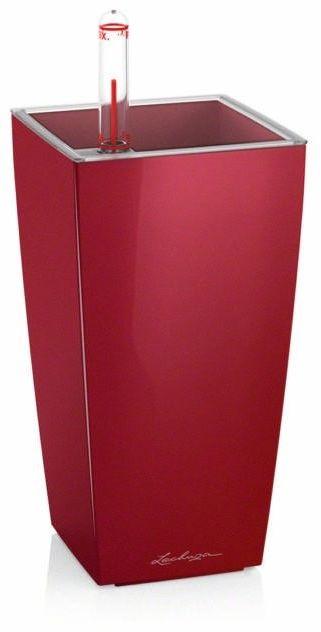 Donica lechuza mini cubi - scarlet red - połysk - czerwony