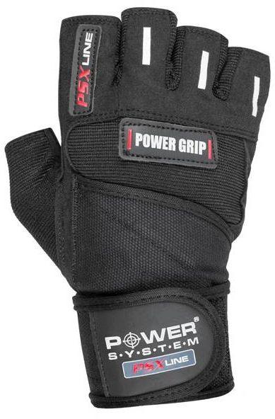 Power System - Rękawice POWER GRIP 2800 Black