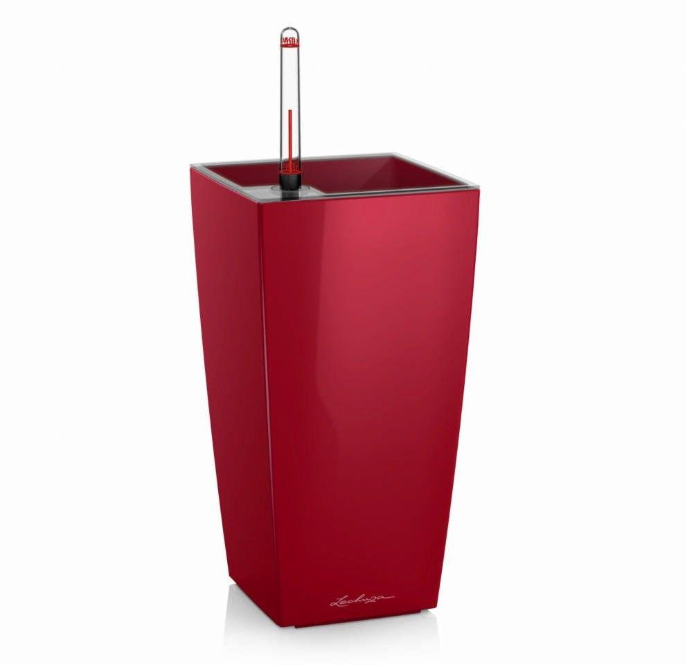 Donica lechuza maxi cubi - scarlet red - połysk - czerwony