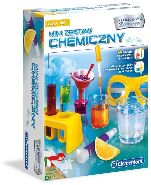 Kreatywny Mini Zestaw Chemiczny Edukacyjny Clementoni