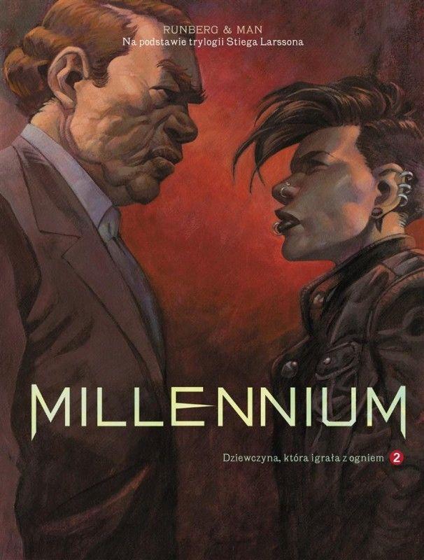Millennium. Dziewczyna, która igrała z ogniem, tom 2 ZAKŁADKA DO KSIĄŻEK GRATIS DO KAŻDEGO ZAMÓWIENIA