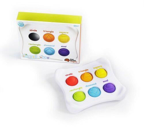 Bąbelki kolory kształty Dimpl Duet Fat Brain Toys