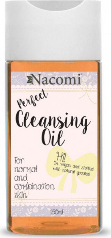 Nacomi - Perfect Cleansing Oil - Olejek do demakijażu metodą OCM - Cera normalna i mieszana