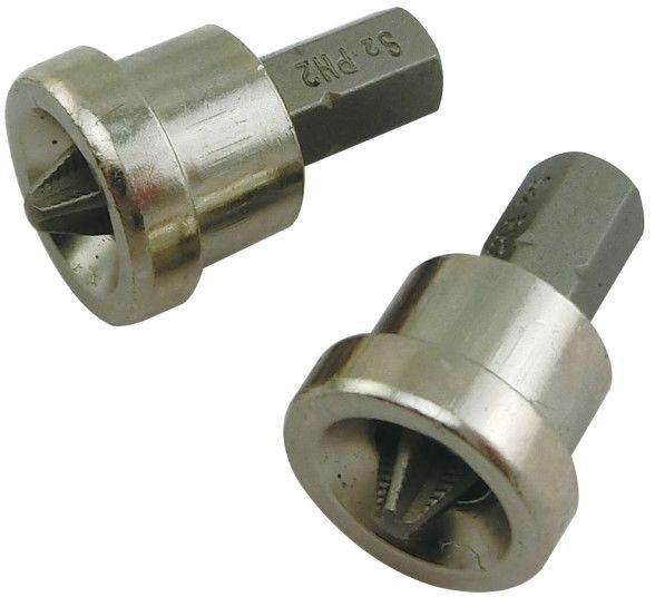 Zestaw bitów Universal fit z ogranicznikiem 25 mm PH2 2 szt.
